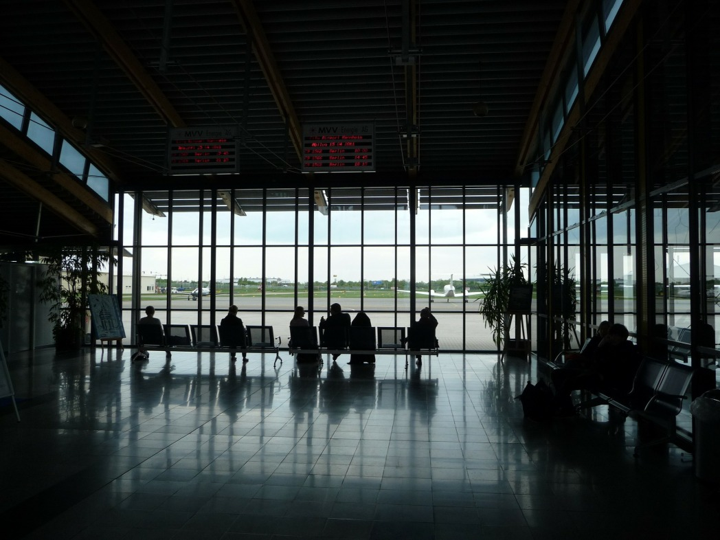 Arrive early at the airport