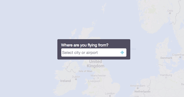 Skyscanner Map Feature